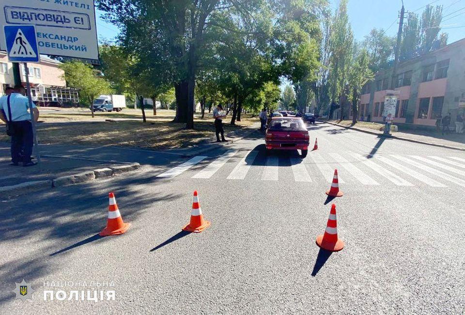 В Ингульском районе сбили пешехода - мужчина в больнице (ФОТО) 1