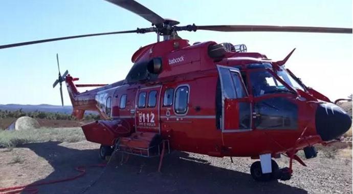 В Испании угнали вертолет, задействованный в тушении лесных пожаров