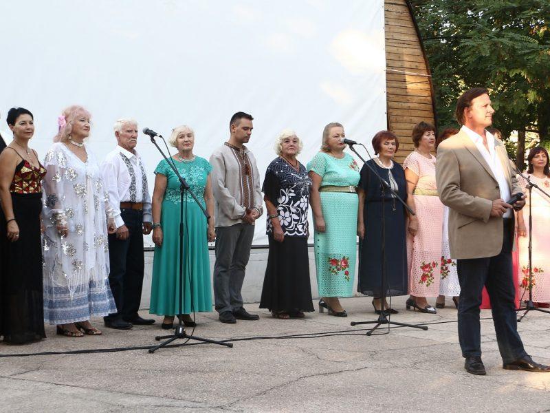 Оперно-вокальная студия дала концерт ко Дню Независимости на летней площадке ДОФа (ФОТО)