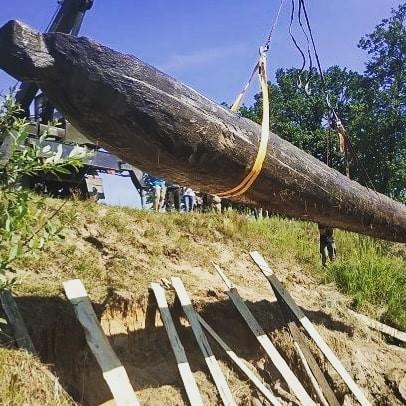 Археологи нашли древлянскую лодку в Житомирской области (ФОТО) 1