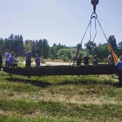 Археологи нашли древлянскую лодку в Житомирской области (ФОТО) 3