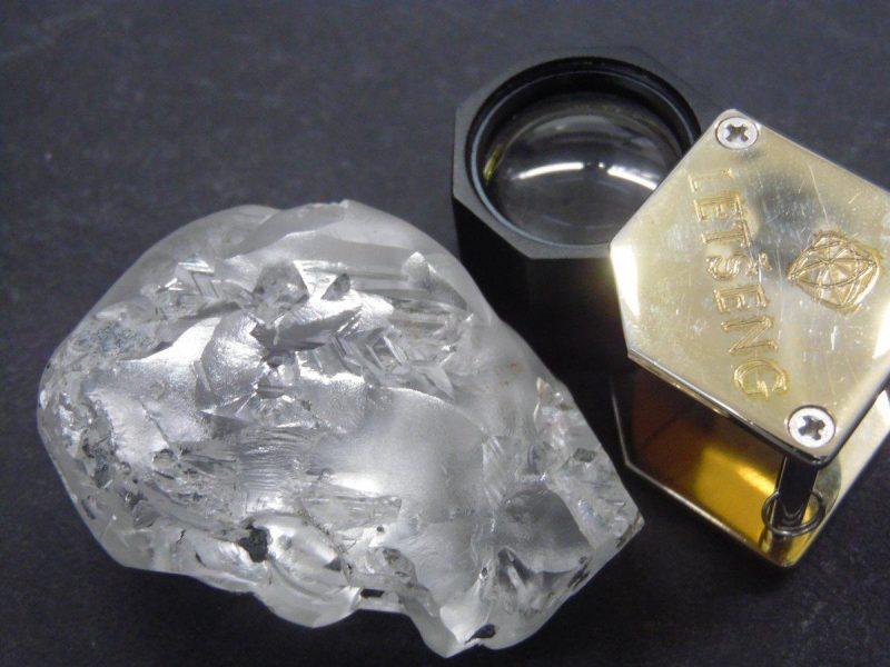 В Южной Африке добыли один из крупнейших алмазов в мире