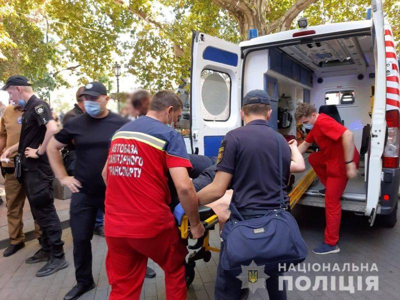 Столкновения в Одессе: полиция задержала почти 20 человек (ФОТО)