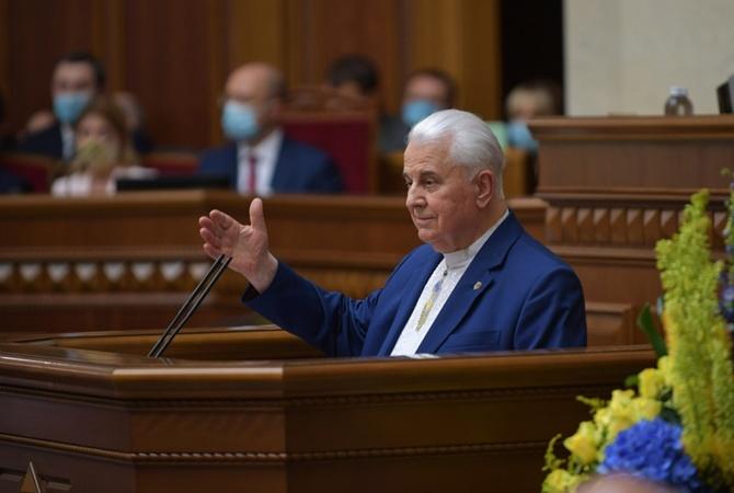 Кравчук: Большинство жителей Донбасса хотят быть в Украине автономией, чтобы общаться с РФ