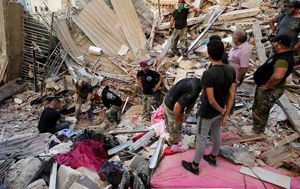 Число жертв взрыва в Бейруте превысило 150