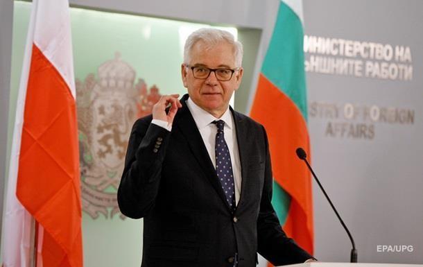 Глава МИД Польши уволился после разговора с белорусским оппозиционером