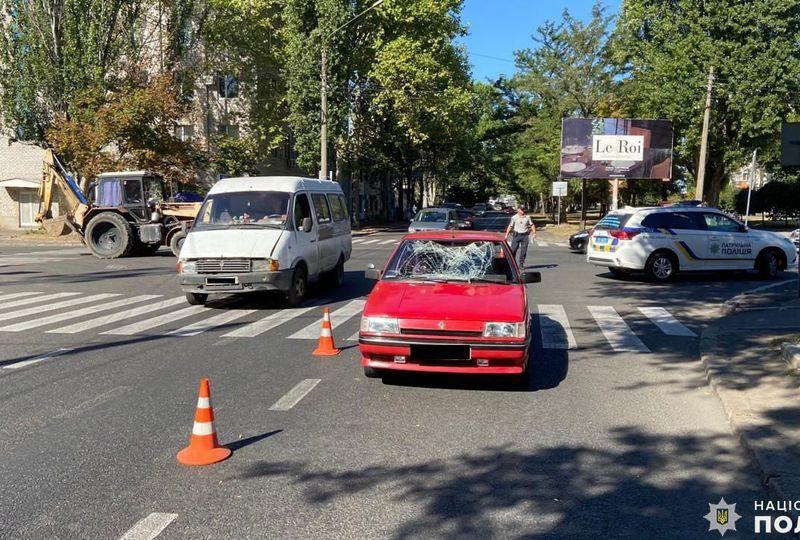 В Ингульском районе сбили пешехода – мужчина в больнице (ФОТО)