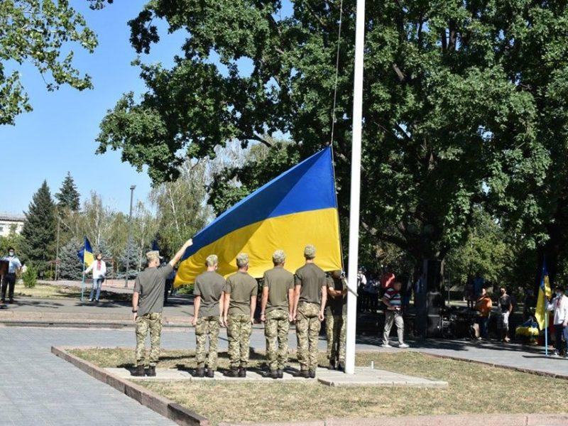 В Николаеве отметили день Государственного флага Украины (ФОТО)