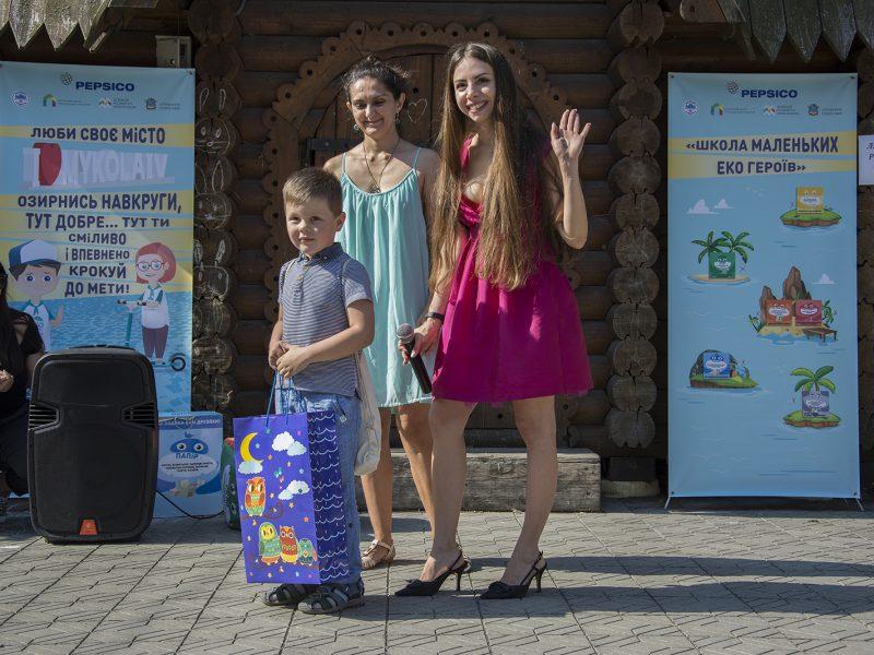 В Николаеве маленьких эко-героев наградили конструкторами LEGO, карандашами с семенами и наборами для творчества (ФОТО)