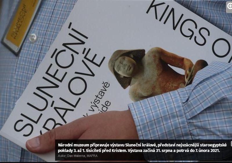 «Солнечные короли»: после десятилетий переговоров в Чехию прибыли ценнейшие артефакты из Египта (ФОТО)