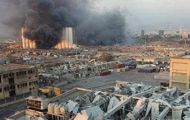 Взрыв в порту Бейрута был равен землетрясению (ВИДЕО)