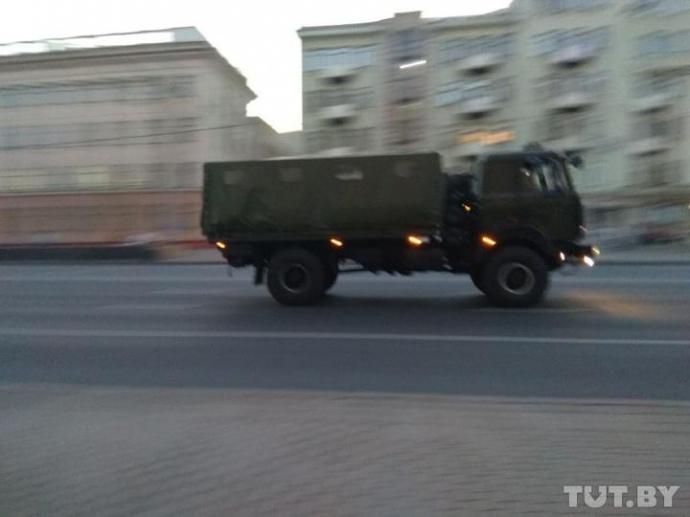 Оппозиционные СМИ сообщают о задержаниях в Минске