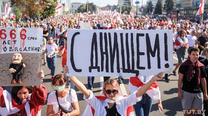 МВД Беларуси уточнило число задержанных активистов