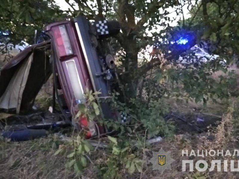 Под Коблево произошла авария, в которой травмировались 18-летний водитель и трое юных пассажиров (ФОТО)
