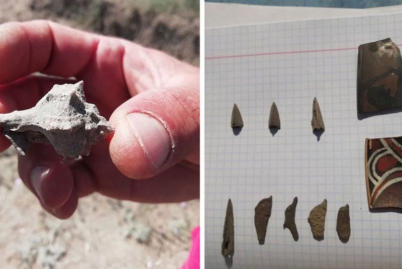На Николаевщине юные археологи откопали амулет, которому более двух тысяч лет (ФОТО, ВИДЕО)