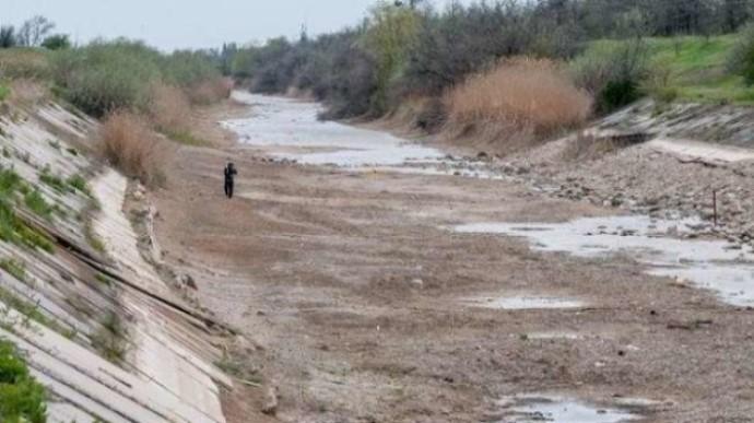 Россия сообщает, что запустила водопровод в Симферополь