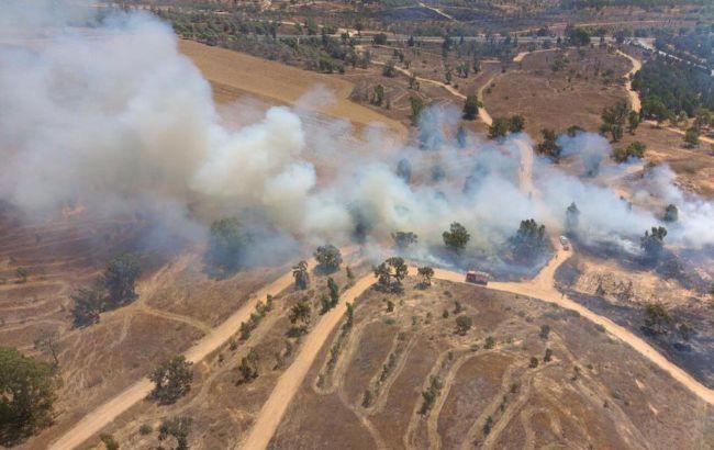 Израиль ударил по объектам ХАМАС в секторе Газа в ответ на запуск шаров со взрывчаткой