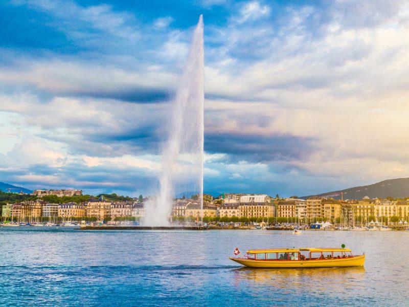 Женева заманивает туристов особым бонусом – сотней швейцарских франков
