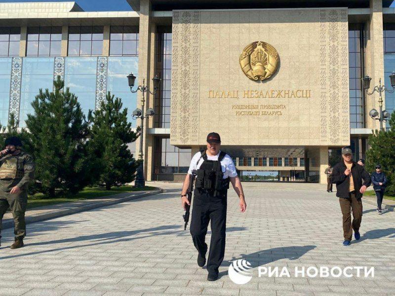 Белорусская армия училась отбивать нападение на Гродненскую область