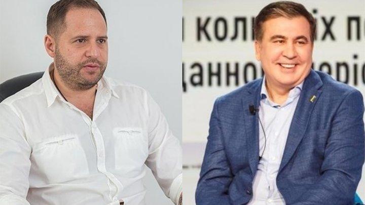 """""""Углубляют коррупцию"""". Между Саакашвили и Ермаком разгорается конфликт из-за Одесской таможни"""