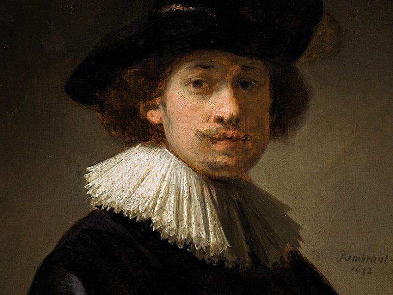 Небольшой автопортрет Рембрандта на аукционе побил ценовой рекорд