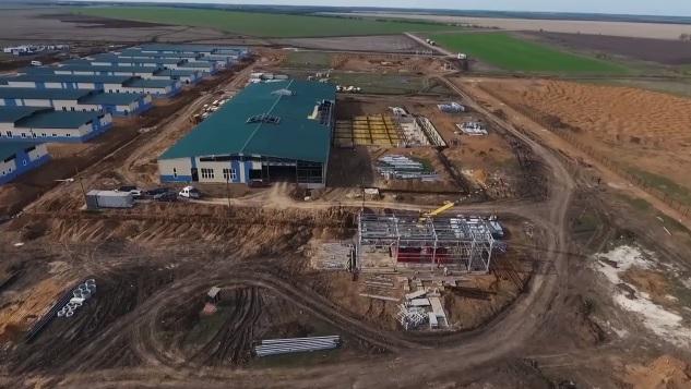 Строительство военного городка на полигоне «Широкий лан» в Николаевской области обещают завершить к концу года