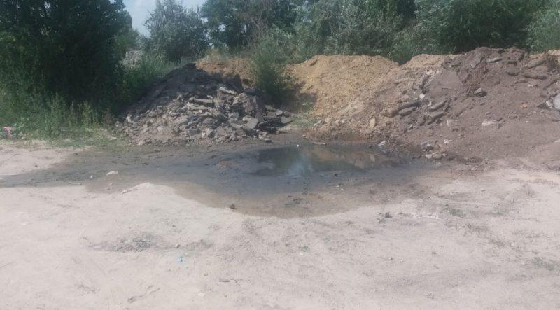 Сливом нечистот у жилого комплекса «Апельсин» в Николаеве природе нанесен ущерб на сумму свыше 234 тыс.грн.