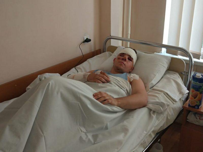 Состояние здоровья курсанта, выжившего в авиакатастрофе под Харьковом, улучшается