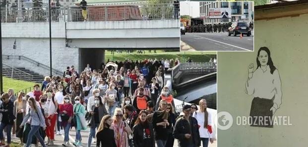 «Народная инаугурация»: в Беларуси – 50-й день протестов (ВИДЕО)