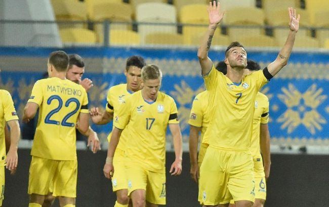 Сборная Украины с победы над Швейцарией стартовала в Лиге наций