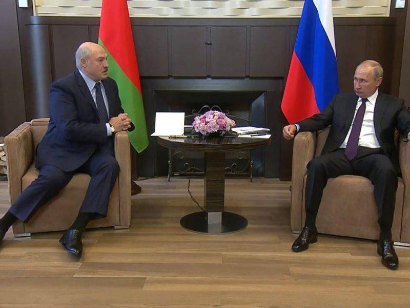 В Кремле подвели итоги переговоров в Сочи: Лукашенко – «легитимный президент» и «визави Путина»