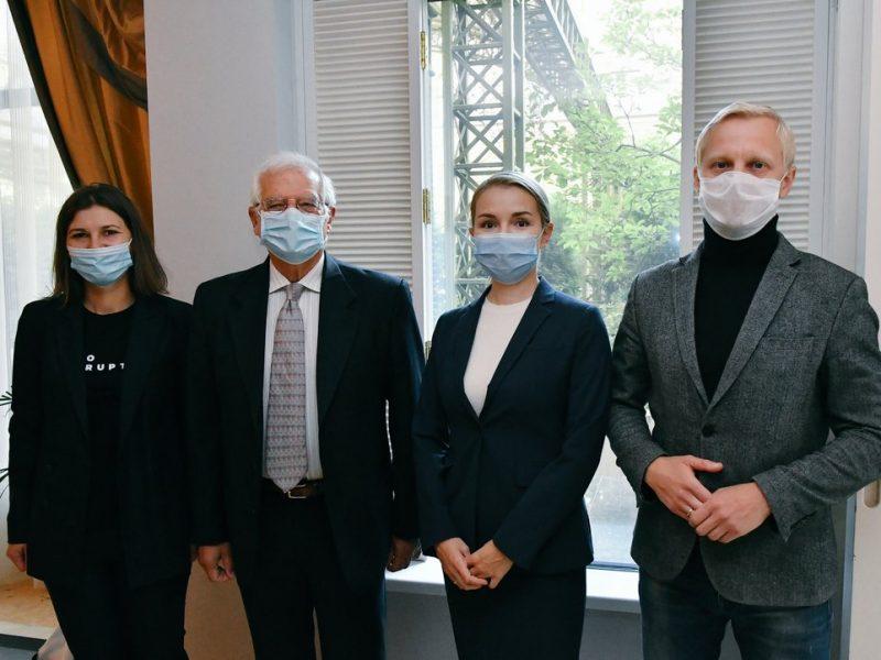 """Центр противодействия коррупции рассказал главному дипломату ЕС о """"проколомойских"""" и """"пророссийских"""" силах в Раде"""