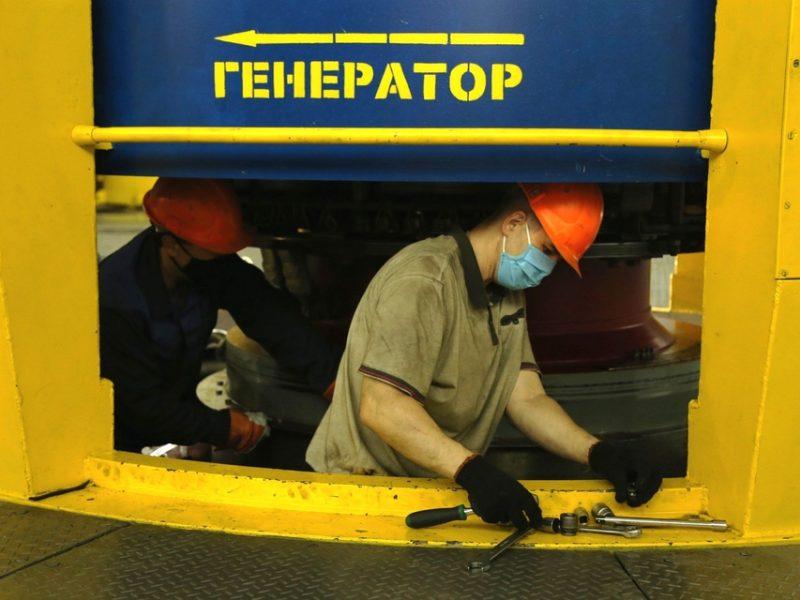 Второй агрегат Ташлыкской ГАЭС ввели в эксплуатацию после ремонта (ФОТО)