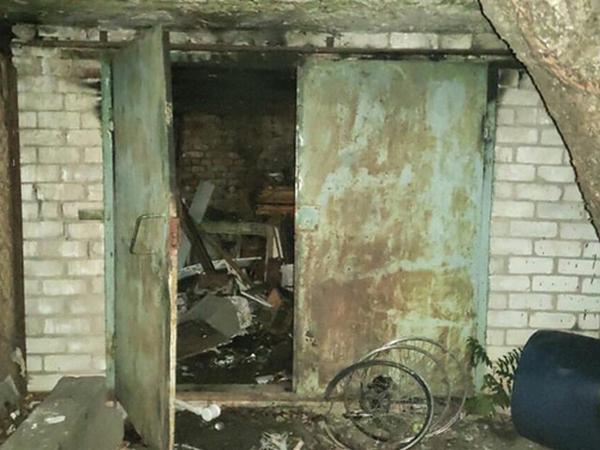 В Николаеве на Вокзальной тушили гараж (ФОТО)
