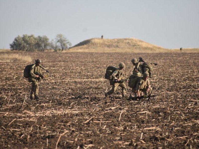 На Николаевщине прошла крупная британско-украинская десантная операция (ФОТО)
