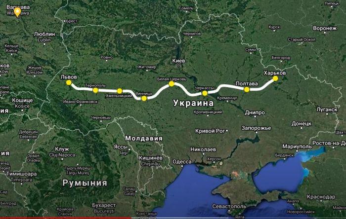 Украина хочет купить 100 пассажирских вагонов за 3,3 млрд. грн. Новые поезда свяжут восток и запад страны