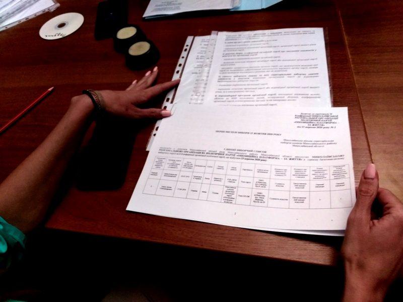В Николаеве ОПЗЖ подала в избирком списки кандидатов, которые не соответствуют объявленным на конференции — ОПОРА (ФОТО, ВИДЕО)