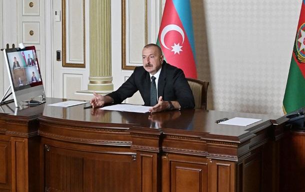 Армения готовится к новой большой войне – президент Азербайджана