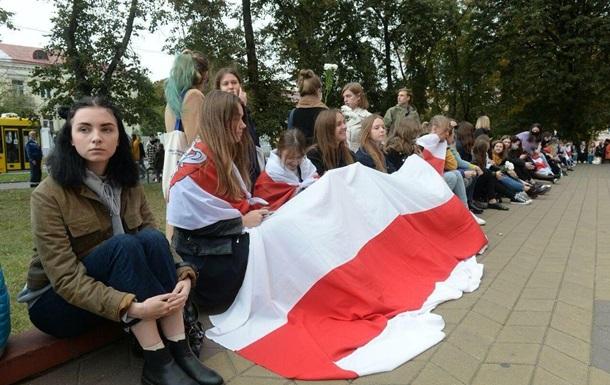 В Беларуси проходят сидячие забастовки студентов