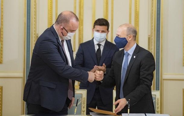 Украина и США подписали контракт по ядерному топливу