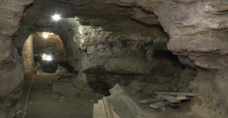 На территории Николаевского яхт-клуба для посещения откроют пещеру-каменоломню (ВИДЕО)