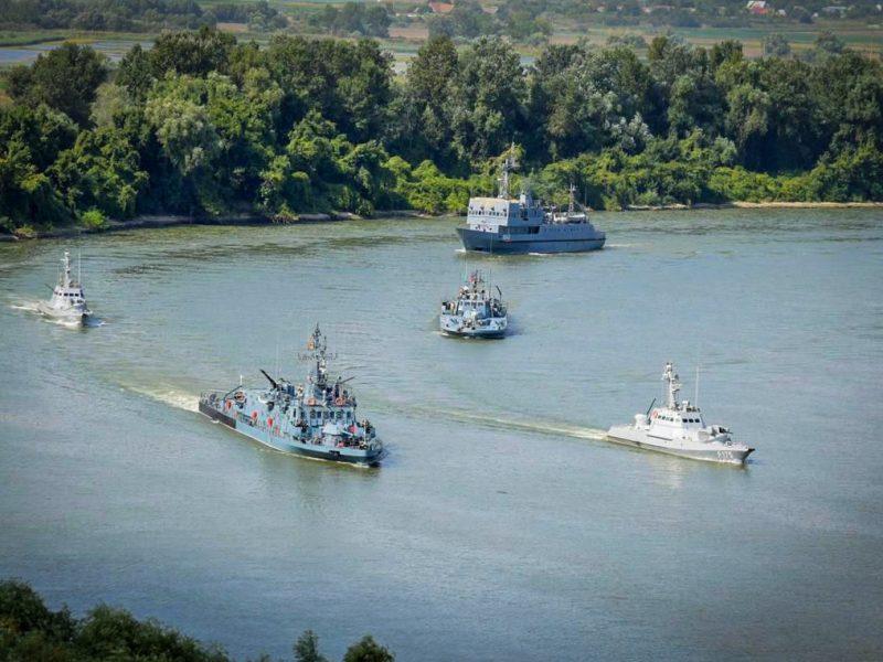 В Измаиле начались украинско-румынские военные учения