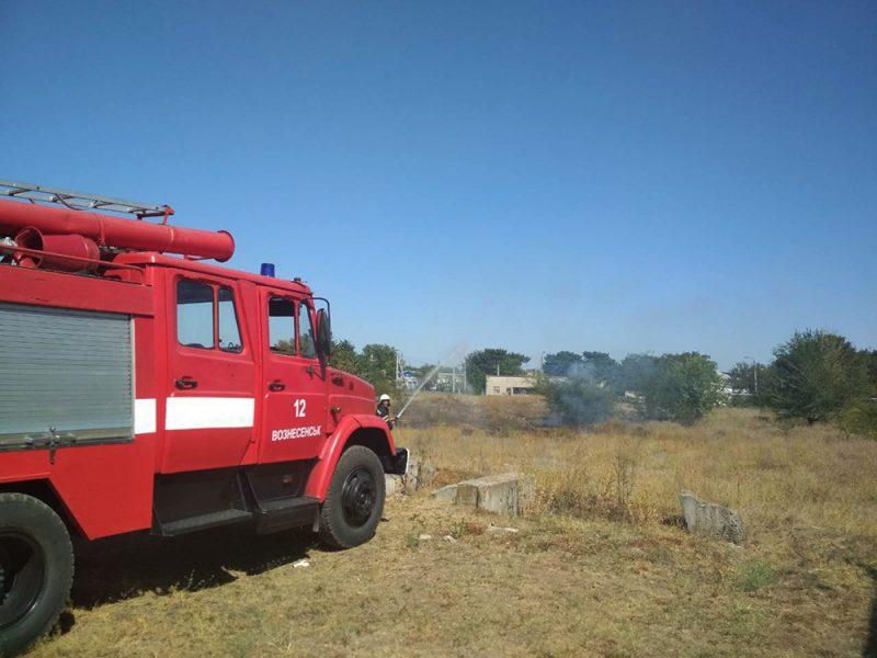 За вчера в Николаевской области выгорело почти 19 га открытых территорий (ФОТО)