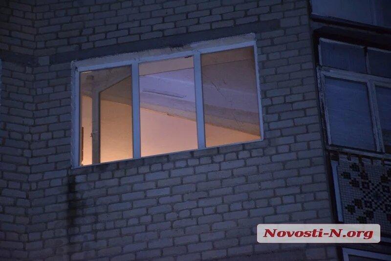 Пенсионерка выпала из окна в центре Николаева (ФОТО) 1