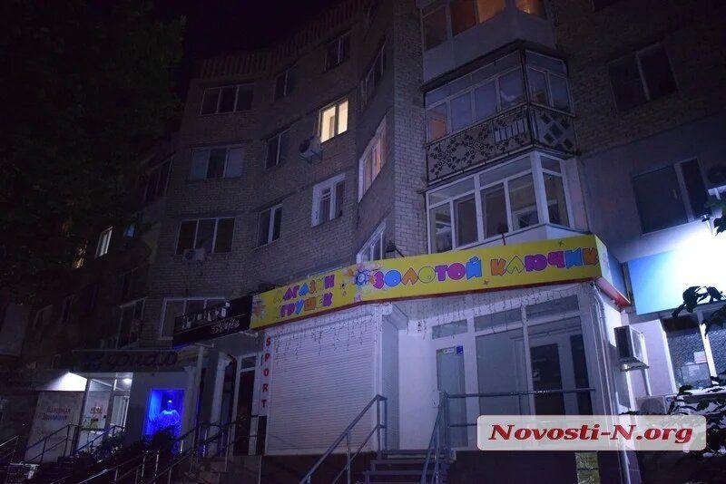 Пенсионерка выпала из окна в центре Николаева (ФОТО)