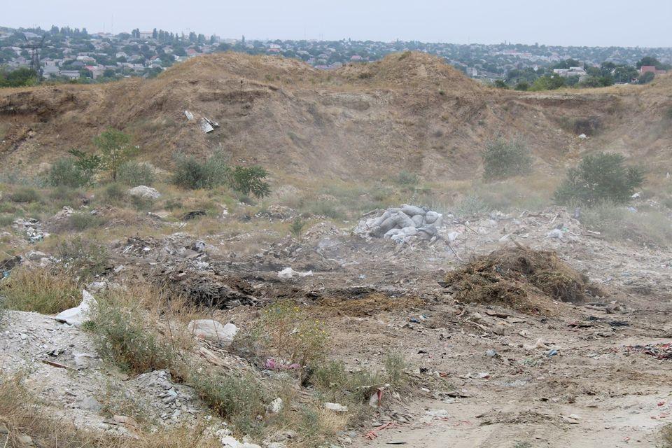 фото люберецкого мусорного полигона