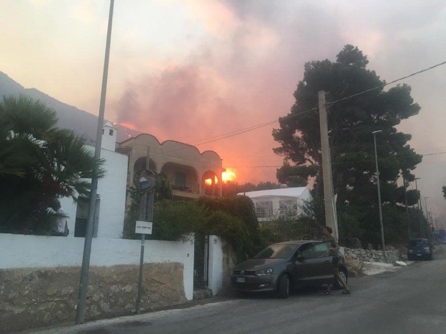 Заповедник на Сицилии уничтожен пожаром (ФОТО) 17