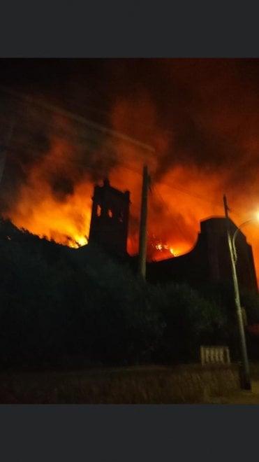 Заповедник на Сицилии уничтожен пожаром (ФОТО) 1