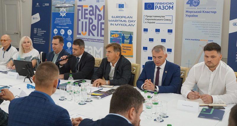 Участники Морского кластера Украины в Николаеве обсудили перспективы отрасли