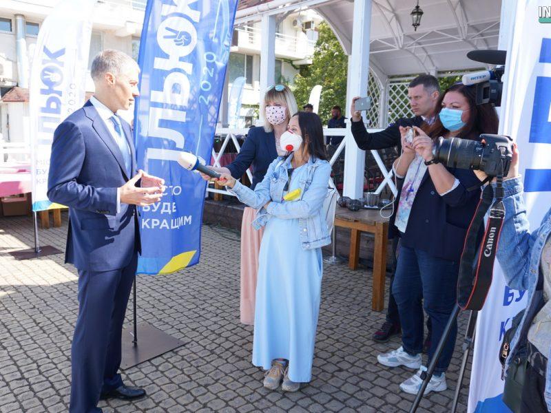 Без выдвижения. В Николаеве городская организация ОПЗЖ пыталась провести партконференцию. А получилось партсобрание (ВИДЕО и ФОТО) (ОБНОВЛЕНО)